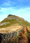 A craggy hilltop in the Brecon Beacons National Park, Wales