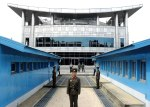 A guard at the heavily fortified 'Demilitarized Zone', North Korea